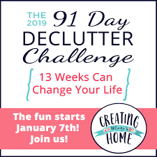 de clutter 2019 declutter challenge creatingmaryshome com