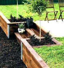4x4 retaining wall how to build a wood retaining wall landscape wood retaining wall image of 4x4 retaining wall