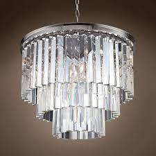 tri fold vanity mirror ballard designs adeline rectangular crystal lighting glomar lighting rectangular glass droplets chandelier odeon chandelier
