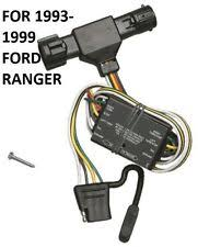 ford ranger towing & hauling ebay Ford Ranger Trailer Wiring Harness 1993 1999 ford ranger trailer hitch wiring kit harness plug & play t one new (fits ford ranger) trailer wiring harness for 2001 ford ranger