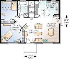 Simple Bedroom House Plan   DR   st Floor Master Suite    Floor Plan
