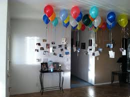 did this in my entry way for husbands 30th birthday 30 balloons