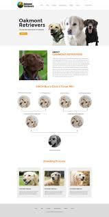 Dog Web Design Elegant Playful Dog Training Web Design For Oakmont