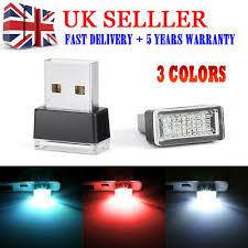 <b>Car</b> Parts Multi Color <b>USB</b> LED <b>Car Interior</b> Lighting Kit Atmosphere ...