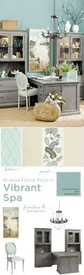 office color palette. Home Office With Coastal Feel Color Palette F