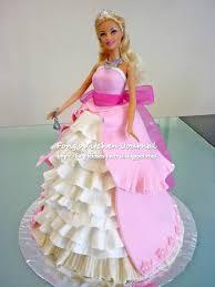 Fongs Kitchen Journal Princess Barbie Doll Cake
