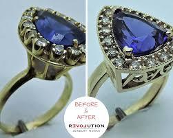 sapphire ring repair and refurbishment