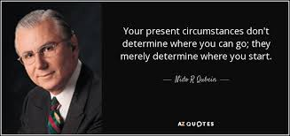 Present Quotes 93 Inspiration Nido R Qubein Quote Your Present Circumstances Don't Determine