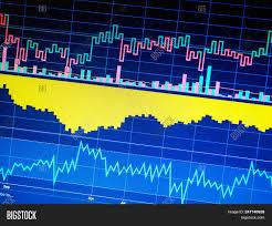 Charts Financial Image Photo Free Trial Bigstock