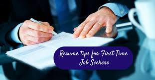 Resume Tips For First Time Job Seekers 10 Awesome Resume Tips For First Time Job Seekers Wisestep