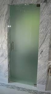 acid etched single door