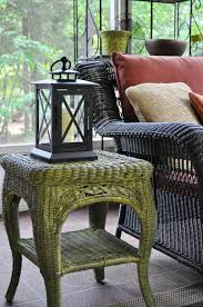 Fabulous Finish: Wicker Table Revamped; Guest Post