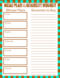 budget plan sheet meal planning to bring your grocery budget down mom explores