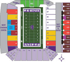 K State Football Stadium Seating Chart Kansas State University Bill Snyder Stadium Manhattan