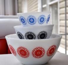 Vintage Pyrex Patterns Amazing Decorating Ideas