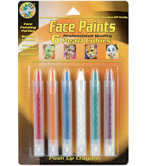 Face Crayon Designs Crafty Dab Face Paints Push Up Crayon Sticks Products