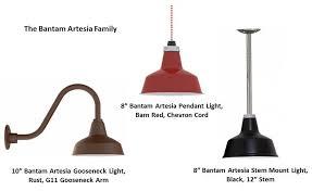 barn light pendants add rustic touch to swine dining