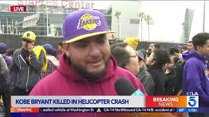 In the Shadow of Staples Center a Kobe Bryant Fan Speaks