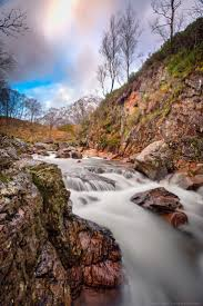 best waterfalls cataracts cascades and streams of water  the landscapes of glencoe a photo essay