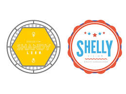 Event Badge Template Free Online Badge Maker Canva