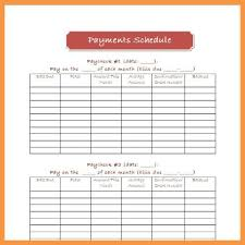 Free Printable Bill Payment Schedule Monthly Bill Payment Schedule Template Budgeting Bill