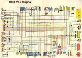 honda magna wiring simple wiring diagram anyone have 85 v65 wiring diagram v4musclebike com honda shadow 750 honda magna wiring
