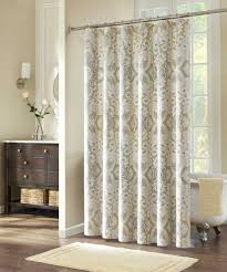 extra long shower curtain liner for your bathroom decor ideas modern bathroom design with beige