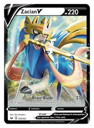 Pokémon TCG: Sword & Shield First info, Card Designs revealed, Zacian V &  Zamazenta V design full reveal | PokeGuardian | We Bring You the Latest  Pokémon TCG News Every Day!