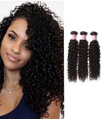 Hairstyles For Curly Hair 5 Awesome 24 Pcspack Brazilian Jerry Curly Hair Weave R Grade Chochair