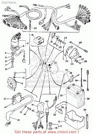 Dt 175 wiring diagram dt 175 parts wiring diagram odicis yamaha dt175 1979 usa electrical