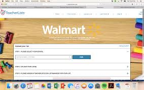 School Supplies List Template Upload Your Back To School Supply List At Walmart Sweet