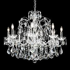 moder lighting. James Moder 40908S22 Regalia Crystal Silver Lighting Chandelier. Loading Zoom