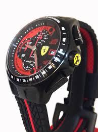 men s scuderia ferrari heritage race 830077 chronograph black red men s scuderia ferrari heritage race 830077 chronograph black red strap watch 885997099196