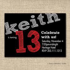 Free 13th Birthday Invitations Free Printable Birthday Invitation Templates Printables