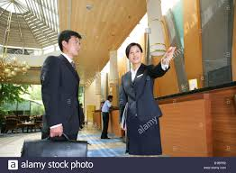 Hotel Manager Businessman Talking With Hotel Manager Stock Photo 18084390