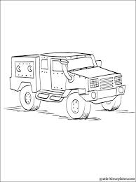 Militaire Vrachtwagen Kleurplaten Gratis Kleurplaten