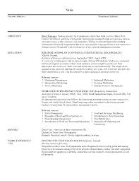 Sample Resume College Student Template Word Cover Letter And