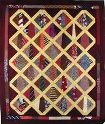 Unique way to use Men's ties in a quilt. Would be a great idea for ... & Tie quilt Adamdwight.com