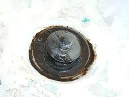 how to fix a hole in the bathtub rusted tub drain fix repair hole in bathtub