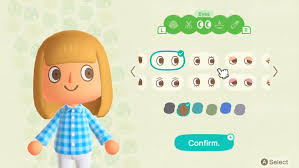 Unlike other guides this one uses the exact wording of the english language versions. Animal Crossing New Horizons Character Customization And How To Change Your Appearance Usgamer