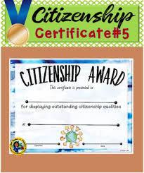 Citizenship Award 5