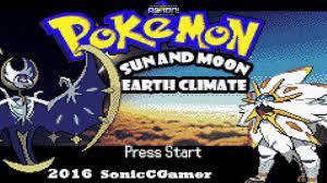 Pokemon Sun and Moon Earth Climate GBA hack - YouTube