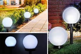solar powered garden lights garden