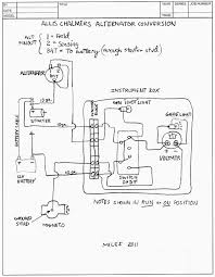 Basic engine wiring diagram allis chalmers c within b