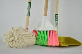 mops and brooms. #SafetyTip: Never Store Mops, Brooms, Laundry Or Newspapers Near Natural Gas Appliances.pic.twitter.com/woVeurq2u9 Mops And Brooms