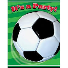 Soccer Party Invitation Template Soccer Party Invitations 8ct