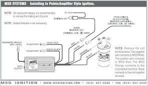msd 6al wiring chevrolet wiring diagram operations