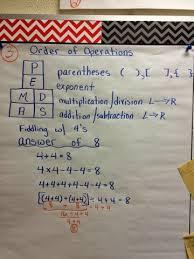 Wild About Learning In Mrs Munozs Class Pemdas Anchor Chart