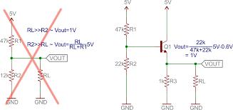 transistors learn sparkfun com common collector 1v out