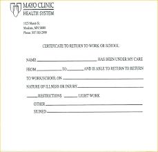 Doctors Excuses For Work Blank Doctors Excuse Nanciebenson Co